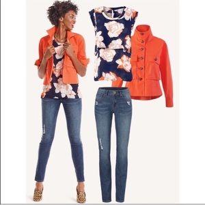 Cabi Blossom Top - Sleeveless - XL